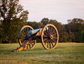 Cannons at Manassas Battlefield Royalty Free Stock Photo