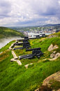 Cannons on Signal Hill near St. John's Stock Photography
