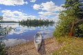 Canoe in for the Day Royalty Free Stock Photo