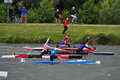 Canoe-Kayak Flatwater French championships 2012 Royalty Free Stock Photography
