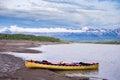 Canoeing Liard River