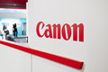 Canon exhibition stand at cologne germany september photokina world of imaging in germany the photokina is the worlds Stock Photography