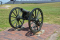 Canon Fort Sumter Royalty Free Stock Photo