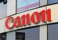 Canon Logo Royalty Free Stock Photo