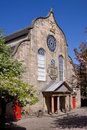 Canongate Kirk, Royal Mile, Edinburgh Stock Photography