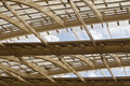 Canopy forum les halles in paris France Royalty Free Stock Photo