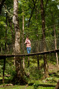 The Canopy Walk Way Stock Photography