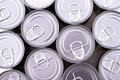 Cans a group of background Royalty Free Stock Photo