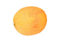 Cantaloup melon cucumis melo cantalupensis isolated on white background Stock Images