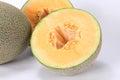 Cantaloupe melon Hami melon Royalty Free Stock Photo