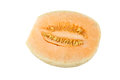 Cantaloupe melon isolated on white background Stock Images