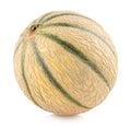 Cantaloupe melon on white background Stock Photo