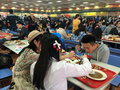 Canteen in xiamen university southeast china has one of the most beautiful campus Stock Photography
