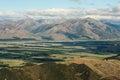 Canterbury plains Royalty Free Stock Photo