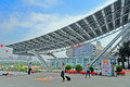 Canton fair pazhou complex, China Stock Photography