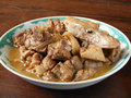 Cantonese food duck stew Royalty Free Stock Photo