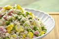 Cantonese rice Royalty Free Stock Photo