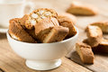 Cantuccini traditional almond biscuits prato tuscany italy europe Stock Photos