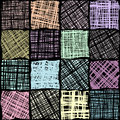 Canvas abstract pattern. Royalty Free Stock Photo