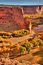 Canyon de Chelly HDR Royalty Free Stock Photo