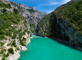 Canyon Gorges du verdon Royalty Free Stock Image