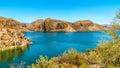 Canyon Lake And The Desert Lan...