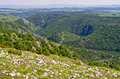 Canyon of uvac river serbia in Royalty Free Stock Photos
