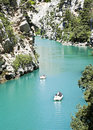 Canyon of verdon Royalty Free Stock Photography