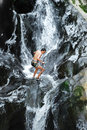 Canyoning Stock Images