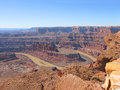 The Canyonland Royalty Free Stock Images