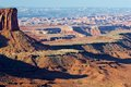 Canyonlands red desert national park utah usa Stock Photography