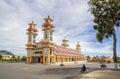 Cao Dai Holy See Temple, Tay Ninh province, Vietnam Royalty Free Stock Photo