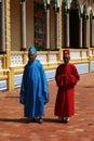 Caodaist priests Stock Image