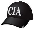 Cap CIA Royalty Free Stock Photo