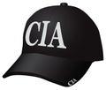 Cap CIA Royalty Free Stock Photo