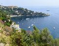 Cap d ail cote d azur alpes maritimes provence alpes france the coast at summer Royalty Free Stock Image