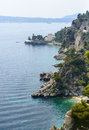 Cap d ail cote d azur alpes maritimes provence alpes france the coast at summer Stock Photography