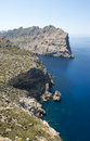 Cap de formentor northern end of mallorca spain Stock Image