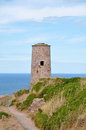 Cap frehel in france europe Stock Photography
