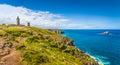 Cap Frehel peninsula, Bretagne, France Royalty Free Stock Photo