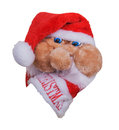 Cap Santa Claus Royalty Free Stock Photo