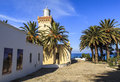 Cap Spartel in Tangier, Morocco Royalty Free Stock Photo
