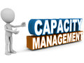 Capacity management Royalty Free Stock Photo