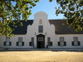 Cape Dutch Architecture Royalty Free Stock Photo