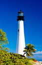 Cape Florida Lighthouse Stock Photography
