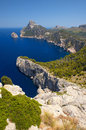 Cape formentor in the coast of north mallorca spain balearic islands Royalty Free Stock Photos