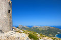 Cape formentor in the coast of north mallorca spain balearic islands Royalty Free Stock Photo