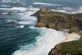 Cape of good hope panorama the south africa Stock Photos