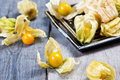 Cape gooseberry is indigenous to south america also known as inca berry aztec berry Royalty Free Stock Photography