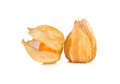 Cape gooseberry, physalis isolated on white background Royalty Free Stock Photo